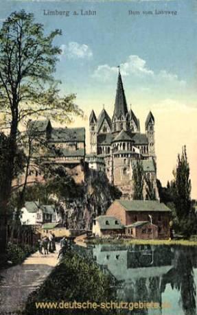 Limburg a. d. Lahn, Dom vom Lahnweg