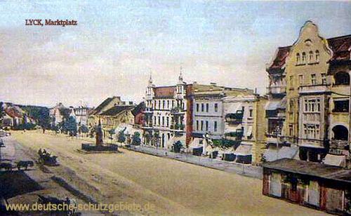 Lyck, Marktplatz