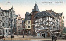 Mainz, Liebfrauen-Platz und Fischtor-Straße