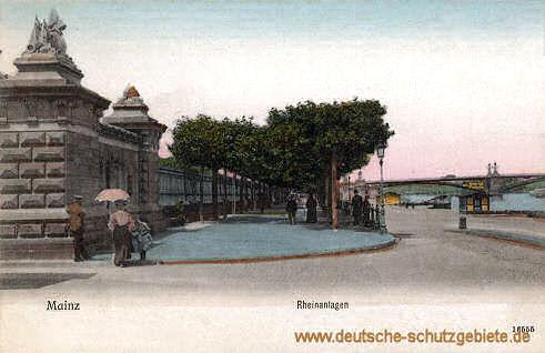 Mainz, Rheinanlagen