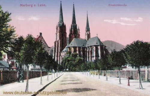 Marburg a. d. Lahn, Elisabethkirche