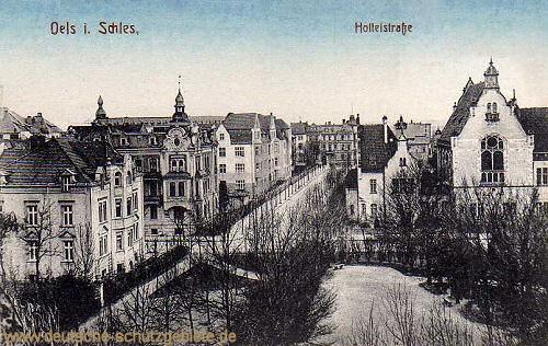 Oels, Holteistraße