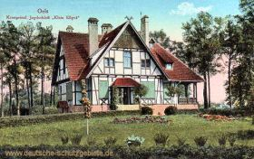 Oels, Kronprinzliches Jagdschloss, Klein Ellgut