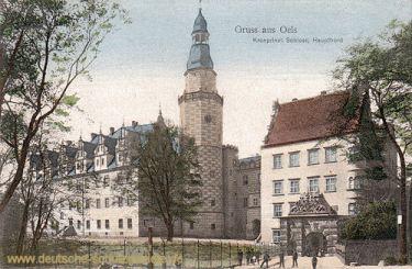 Oels, Kronprinzliches Schloss