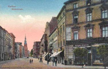 Ratibor, Bahnhofstraße