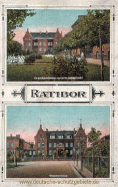 Ratibor, Krankenhaus