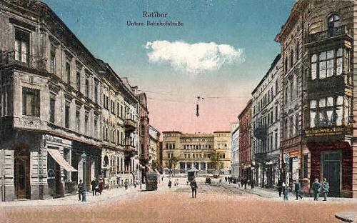 Ratibor, Untere Bahnhofstraße