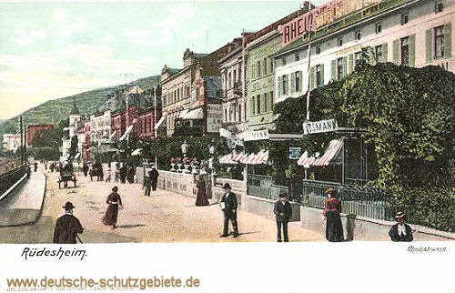 Rüdesheim am Rhein, Rheinstraße