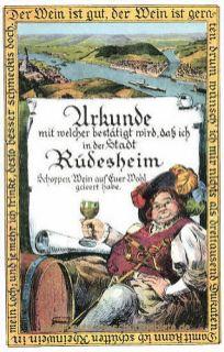 Rüdesheim am Rhein, Urkunde