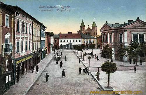 Stanislau, Ringplatz