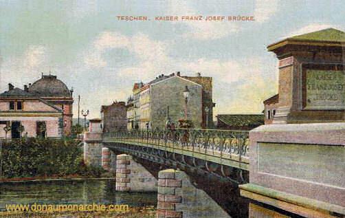 Teschen, Kaiser Franz Josef Brücke