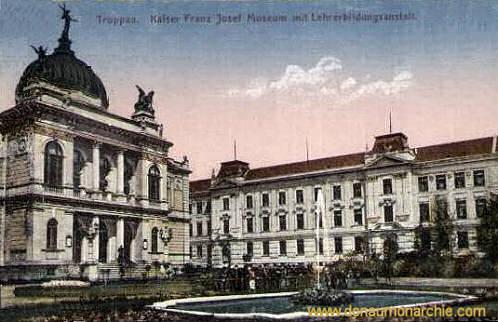 Troppau, Kaiser Franz Josef Museum mit Lehrerbildungsanstalt