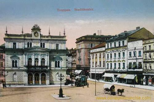 Troppau, Stadttheater
