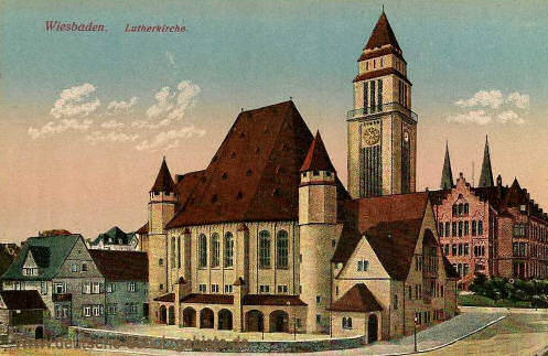 Wiesbaden, Lutherkirche