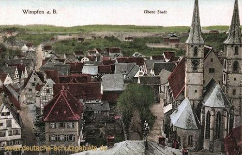 Wimpfen a. B., Obere Stadt