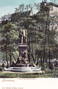 Altenburg S. A., Kaiser Wilhelm-Denkmal