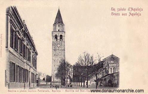 Aquileja, Basilika und Dom-Kapitel-Platz