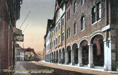 Arnstadt, Erfurter Straße