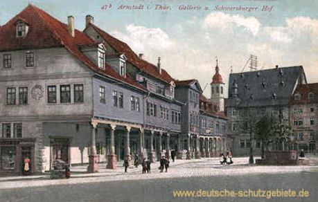 Arnstadt, Galerie und Schwarzburger Hof