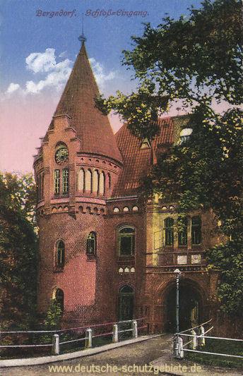Bergedorf, Schloss-Eingang