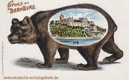 Gruss aus Bernburg