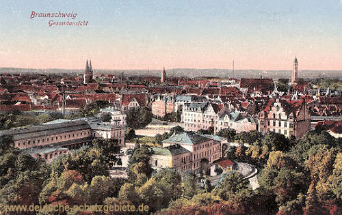 Braunschweig, Gesamtansicht