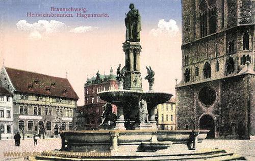 Braunschweig, Heinrichsbrunnen, Hagenmarkt