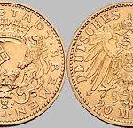 20 Mark, Freie Hansestadt Bremen, 1906