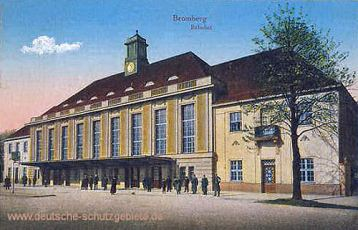 Bromberg, Bahnhof