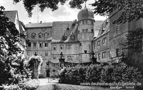 Ebeleben, Schloss