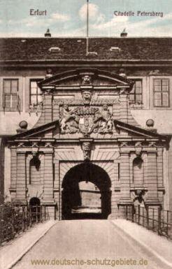 Erfurt, Citadelle Petersberg