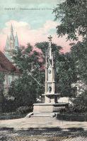 Erfurt, Hermannsdenkmal mit Dom