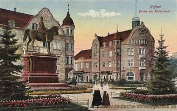 Erfurt, Partie am Kaiserplatz