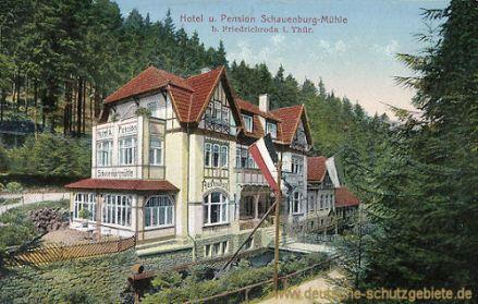 Friedrichroda, Hotel Schauenburg-Mühle
