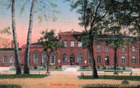 Gnesen, Bahnhof