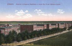Gnesen, Kaserne d. Dragoner-Regiments v. Arnim No.12 mit Offiziers-Casino