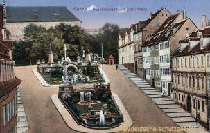 Gotha, Wasserkünste am Schlossberg