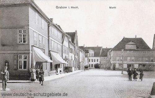 Grabow i. M., Markt