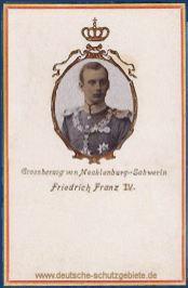 Großherzog Friedrich Franz IV. von Mecklenburg