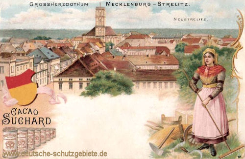 Großherzogtum Mecklenburg-Strelitz, Neustrelitz
