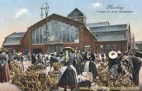 Hamburg, Vierländer am neuen Gemüsemarkt