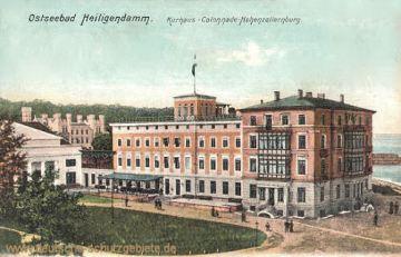 Heiligendamm, Kurhaus-Colonnade-Hohenzollernburg