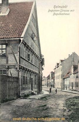 Helmstedt, Beguinenstrasse mit Beguinenhaus