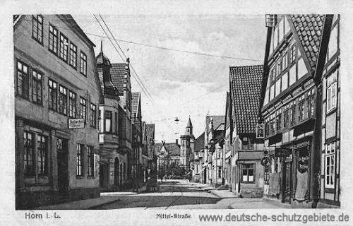Horn in Lippe, Mittel-Straße