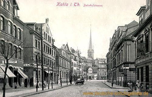 Kahla, Bahnhofstraße