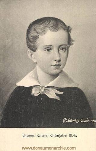 Unseres Kaisers Kinderjahre 1836 (Kaiser Franz Joseph)
