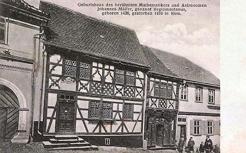 Königsberg in Franken, Geburtshaus des Regiomontanus