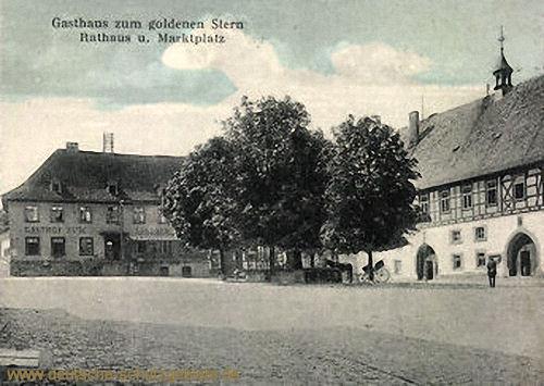 Königsberg in Franken, Rathaus und Marktplatz