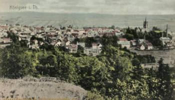 Königsee, Stadtansicht