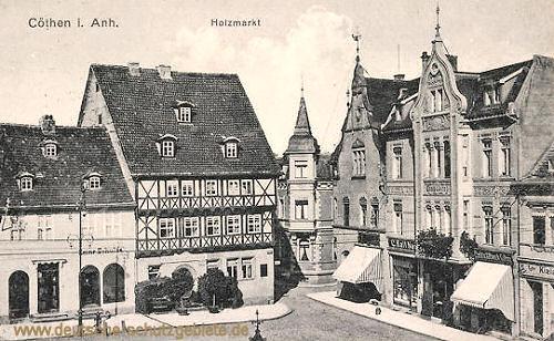 Köthen, Holzmarkt